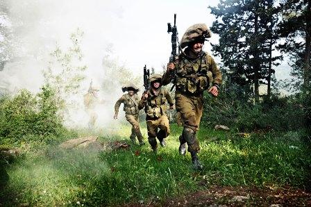 חיילים רצים