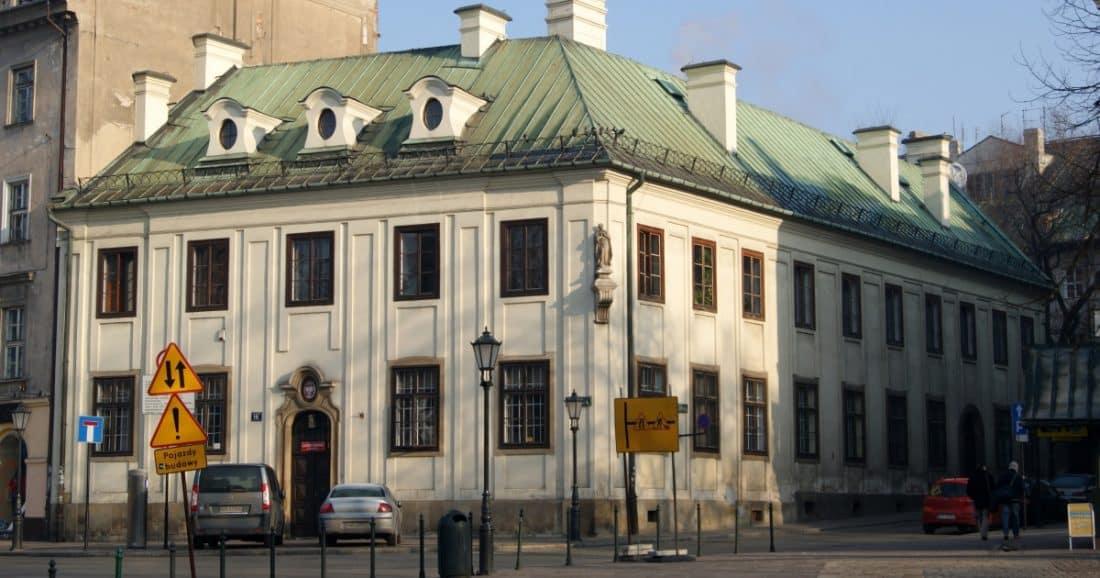 הארכיון של קראקוב, רחוב סיינה 16, העיר העתיקה של קראקוב, פולין