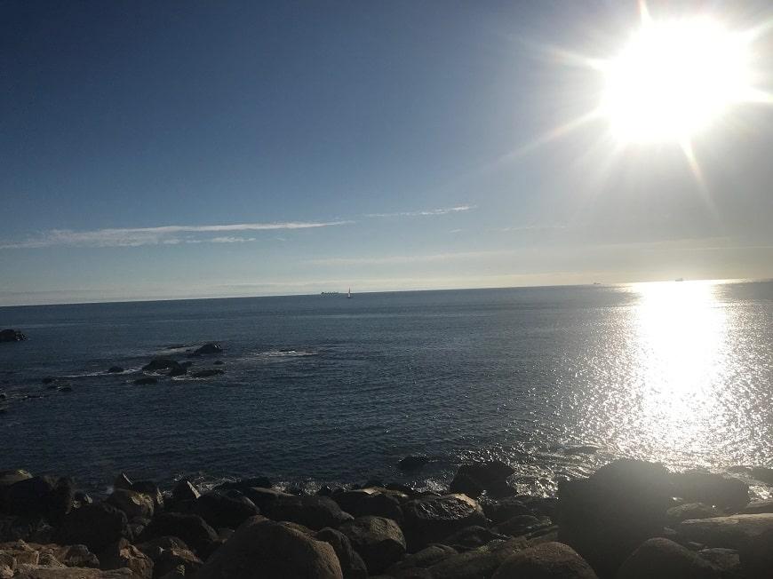הליכה לאורך האוקיינוס האטלנטי
