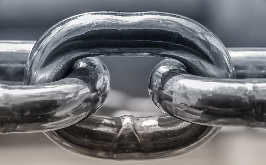 חוליה בשרשרת - קישור