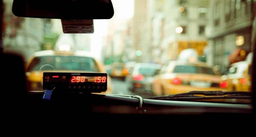 מחירון של נהג מונית - מונה