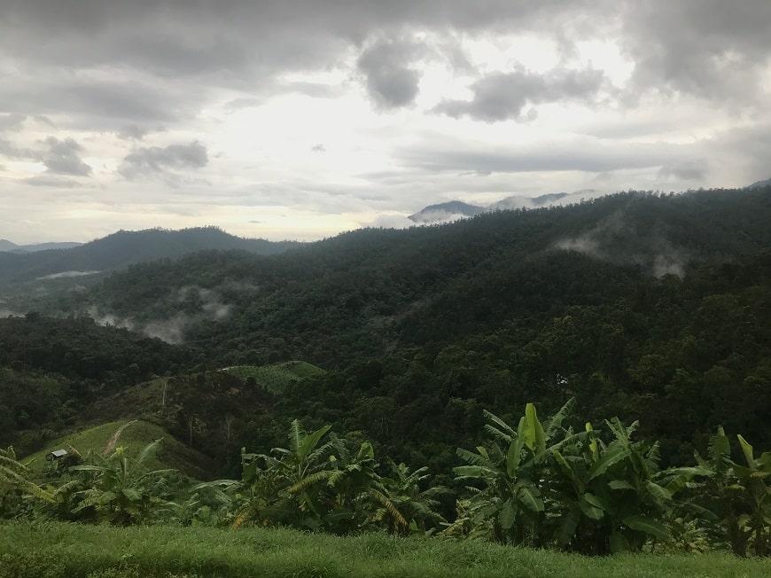 הטבע בפאי שבצפון תאילנד