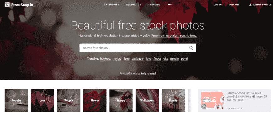 מאגר תמונות חינם - StockSnap