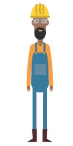 דמות לסרטון אנימציה Toonly - טונלי (בנימין)