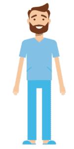 דמות לסרטון אנימציה Toonly - טונלי (בני)