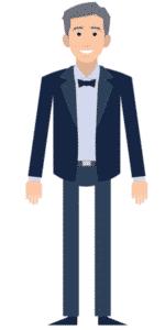 דמות לסרטון אנימציה Toonly - טונלי (גיא)