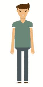 דמות לסרטון אנימציה Toonly - טונלי (דובי)