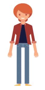 דמות לסרטון אנימציה Toonly - טונלי (דקלה)