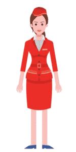 דמות לסרטון אנימציה Toonly - טונלי (הדיילת שרי)