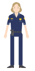 דמות לסרטון אנימציה Toonly - טונלי (השוטרת יעל)