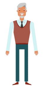 דמות לסרטון אנימציה Toonly - טונלי (זכריה)