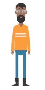 דמות לסרטון אנימציה Toonly - טונלי (טגאו)