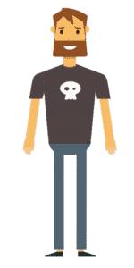 דמות לסרטון אנימציה Toonly - טונלי (יקי)