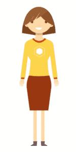 דמות לסרטון אנימציה Toonly - טונלי (מירה)