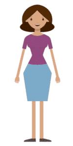 דמות לסרטון אנימציה Toonly - טונלי (רוית)
