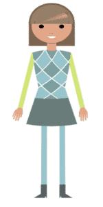 דמות לסרטון אנימציה Toonly - טונלי (תמרה)