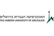 לוגו - האוניברסיטה העברית ירושלים
