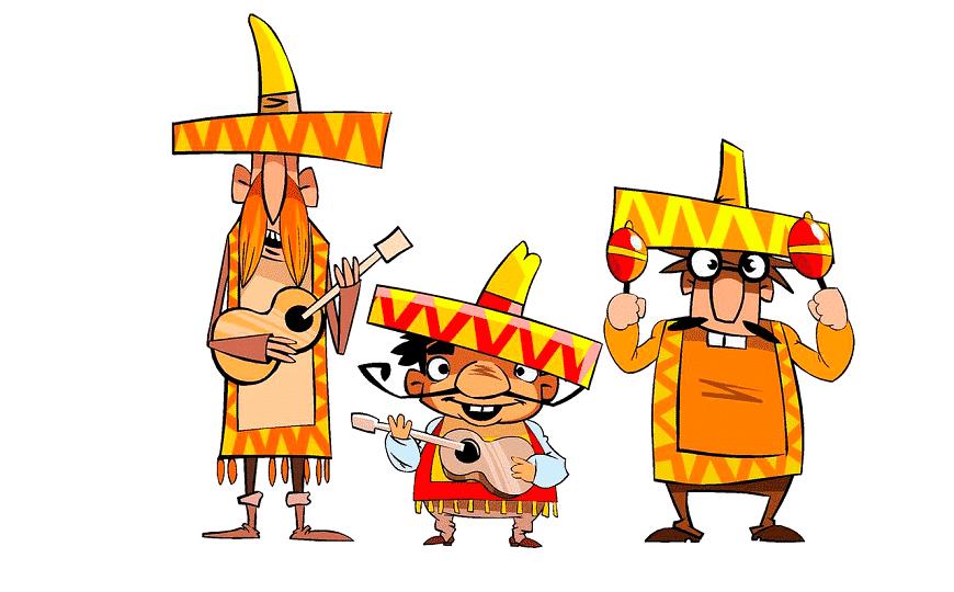 3 דמויות מצויירות