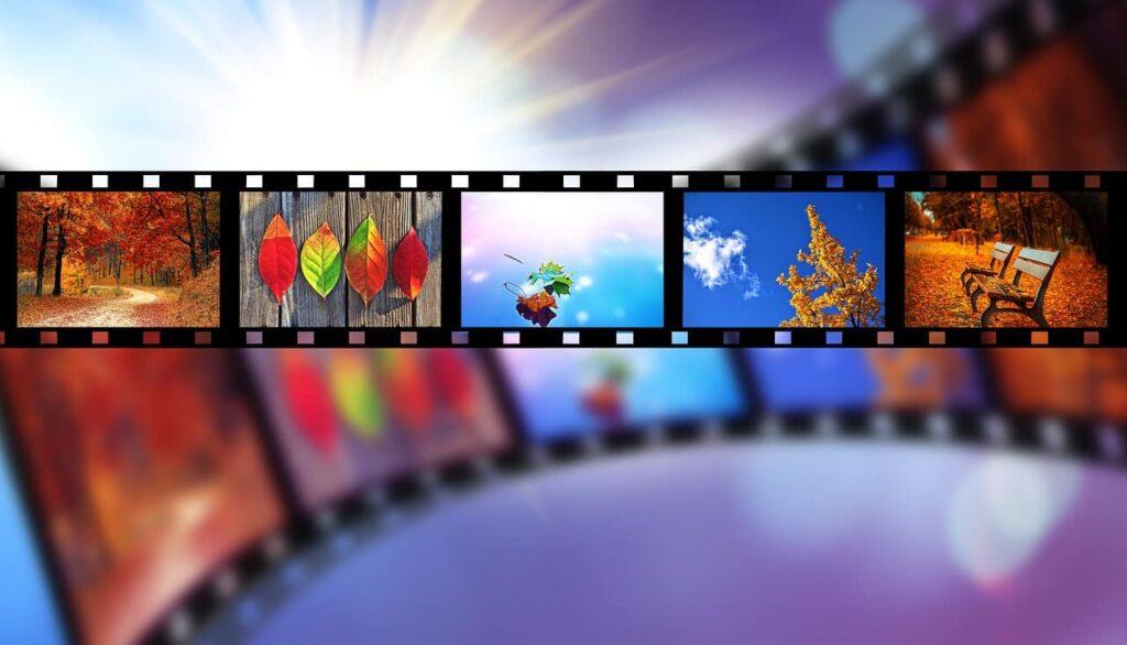 סרט עם תמונות שונות