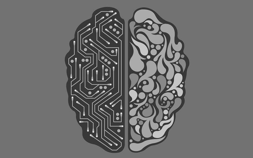 אינטיליגנציה מלאכותית - איור